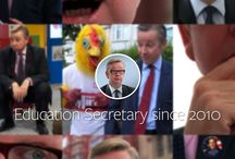 Michael Gove... / Michael Gove showed up one day in my youngest son's classroom. His visit inspired this video. (For those who don't know, Michael Gove is the Secretary of State for Education in the UK. He is a neo-conservative and admires Murdoch. You can imagine what his policies are like...)