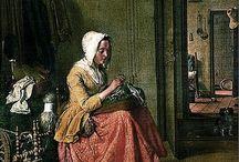 Work Ladies :: Mending/Needlepoint/Knitting