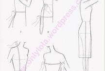 explicaciones como coser un vestido manga japonesa