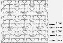 Crochet stitches/haaksteken
