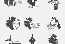 Wine logoes