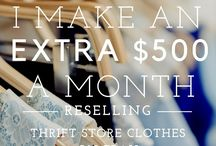 Reselling thrift store items