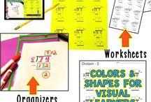 Math - Middle School / Teaching ideas for middle school teachers