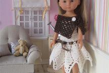 Les Chéries de Corolle / Mes créations au crochet pour les poupées Chéries de Corolle : Patrons et tenues disponibles dans ma boutique