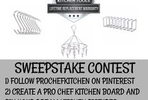 Kitchen Sweepstakes / Here are a list of our sweepstakes that you can enter absolutely free of charge!
