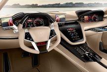 cars Concept interior