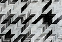 """Houndstooth /  The Houndstooth Collection is a continuation of Baldwin's explorations in designing mosaics inspired by textiles. Her prior designs have included ikat, suzani, paisley, kuba cloth, gingham, and plaid. Baldwin says,"""" a classic pattern never really goes out of style. It is perennial, with cycles of popularity, like the one we are witnessing now.  / by New Ravenna Mosaics"""