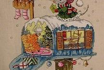 Cross Stitching Christmas Patterns