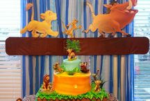 Lion king themed party