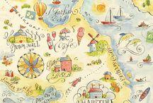Sketch Map Inspirations / Sketch map Canpol