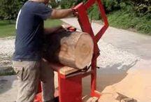 macchina taglio legna