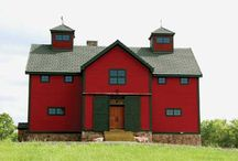Barn Homes and cabins / by harley Softail