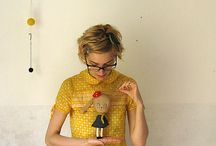 Pineadora del mes | Eva MisakoMimoko / Eva es hacedora de muñecas, soñadora, creadora incansable e inspiración para muchos de los que vivimos en el mundo del Handmade y el craft. Puedes conocer más de ella en su blog http://misakomimoko.blogspot.com.es/ / by DaWanda en español