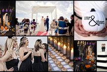 Halloween Mood Board / Are you brave enough for an halloween wedding?