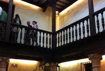 Alcalá de Henares / Tablero con imágenes de interés de la ciudad de Alcalá de Henares #Madrid