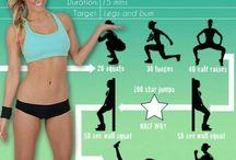 esercizi gambe
