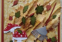 Autumn cards / Autumn themed cards created with Marianne Design products / by Marianne Design
