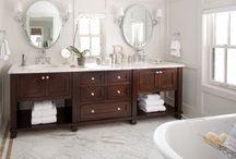 bathrooms / by Susan Harnish