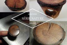 Bijoux / Mon travail principalement du bois sur le thème du bijou sous toutes ses formes.