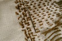 štepování úprava oděvů, boro