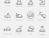 Визуальные заметки / Иконки, миниатюры, векторные рисунки, которые можно использовать для создания визуальных заметок