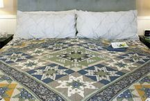 """King Size Quilts / Beautiful king size quilt patterns are hard to find, but McCall's Quilting and McCall's Quick Quilts have them! Check back often for quilts sized to fit mattresses approximately 76"""" x 80"""", plus adequate drops for sides and bottom."""
