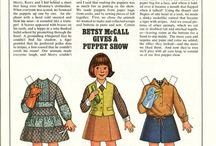 Betsy McCall Paper Doll / Paper doll, magazine