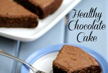 Healthy treats / Vegan chocolate cake