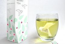 Green tea packages