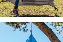 Tree Pods: Portable Instant Treehouses / Discover these magical portable tree houses on Hammock Town! Hang them indoors, in your backyard or take them on an adventure.