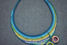crochet jewelry/accessoires / gehaakte sieraden en accessoires