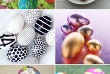 Easter eggs decoration ideas