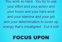 Inspiring words & mantras ❤