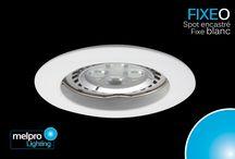 Gamme FIXEO - Spot encastrés fixes - Melpro Lighting