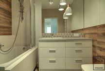 """Aranżacje Perfect Space - Na Ochocie! / Projektując to mieszkanie musieliśmy odpowiedzieć sobie na pytanie """"jak poradzić sobie z długim korytarzem w mieszkaniu na planie prostokąta?"""""""