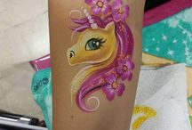 pony facepainting