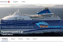 Social Media Pame Krouaziera / Βρείτε μας και στα υπόλοιπα social media | Important Social Media updates everyday for cruises to Greece! #Discover us,#follow us!