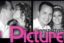 Social sharing station / Party Picture Booth are the premier photo booth rental company in WI and Northern IL. We love photo booths and most are surprised of all the brand new bells and whistles they can incorporate to their event. You can share social pics.