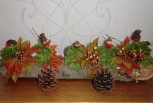 herfst decoratie / decoraties om zelf te maken.