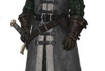 Fantasy warrior/fighter