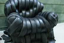 Tire chairs / Tire chairs - Bandenstoelen