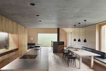 Kuchnia i jadalnia - wooden house