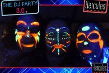DJ Party 3.0 Hercules - Very Good Moment / Nos Hôtes ont organisé une fête unique lors de laquelle ils ont pu se prendre pour de vrais DJ avec le contrôleur Hercules Universal DJ et les accessoires fluo fournis dans le kit !