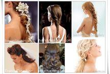 ...hair... braids...colours