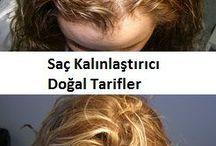 Kalın saçlar