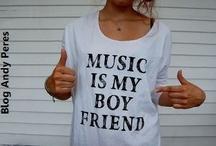 Music was my first love / by Jules kleines Freudenhaus