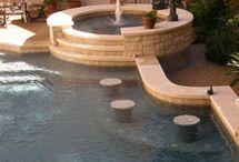 Nice pool & hot tub