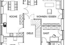 Haus Grundriss