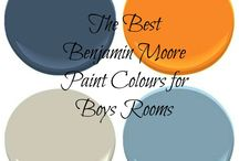 boy rooms / by Alicia Ferney