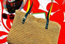 Desperate Artists- Knitted Bags / Hemb Cord // Leather Straps